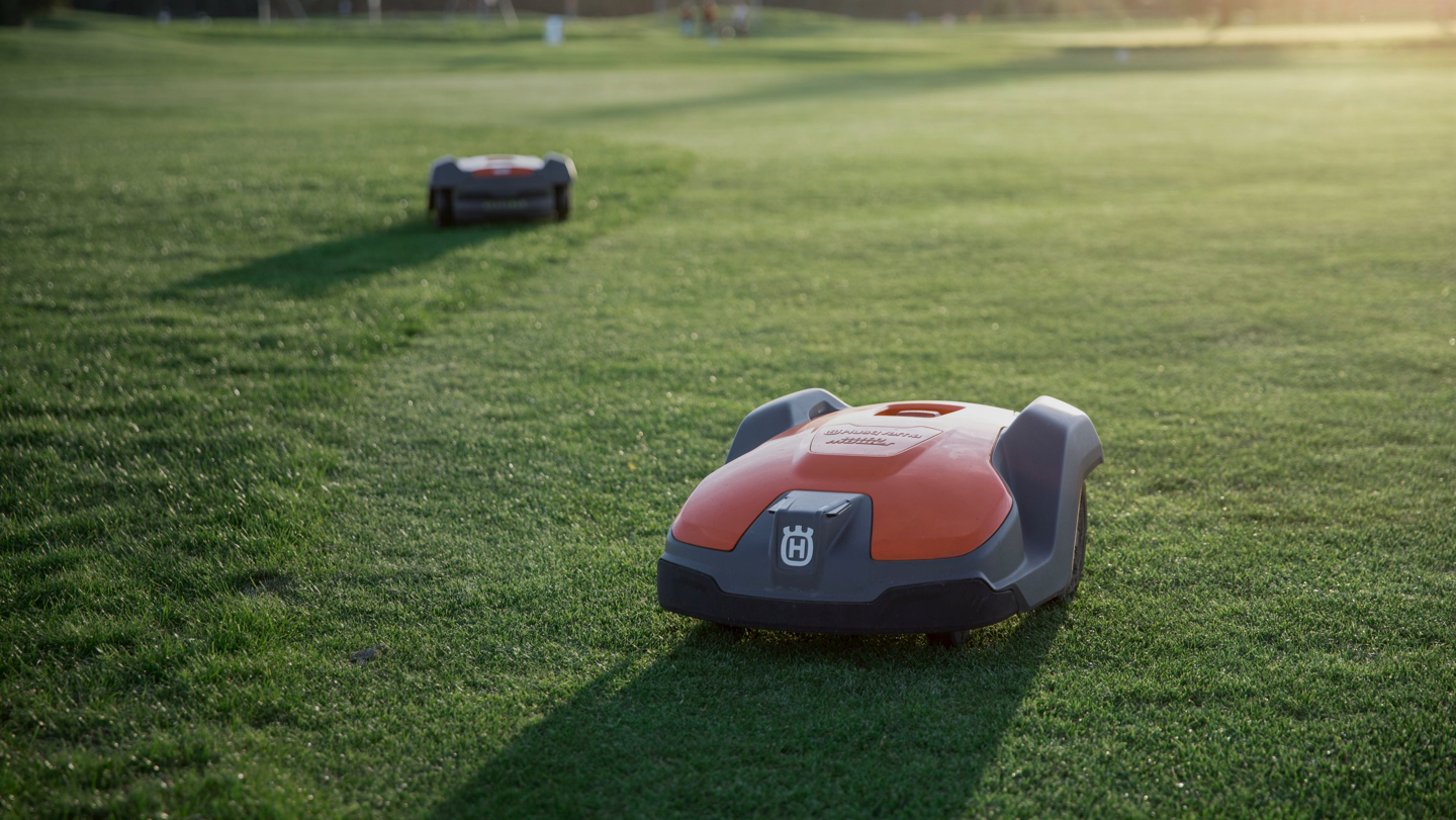 Automower. Your lawn will be effortlessly perfect
